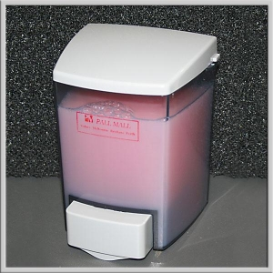 Soap Disp / Liquid Dispenser Clear White - Click for more info
