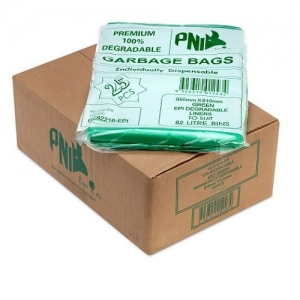 82L Garbage Bags EPI  Green 250/Ctn - Click for more info
