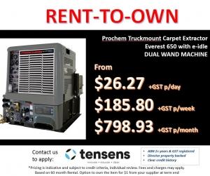 Prochem Everest HP650 e-idle Truckmount