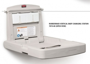 Baby Change Station Wall Mounted Verticl