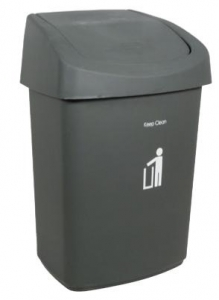 Sabco Bin Swing Top Lid 9L Grey - Click for more info
