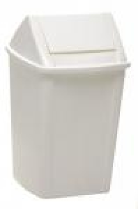 Sabco Kitchen Bin / Waste Bin White 18L - Click for more info