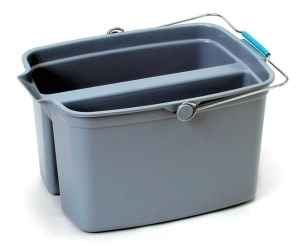 Sabco Divided Bucket Pail 2 x 9L =18L - Click for more info