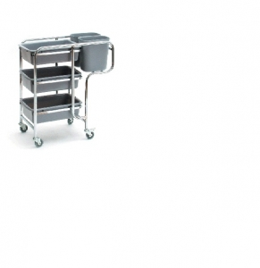 Sabco Collectors Trolley Cart - 3 Shelf - Click for more info