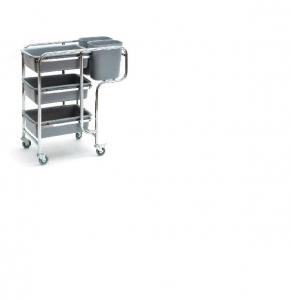 Sabco Collectors Trolley Cart - 3 Shelf