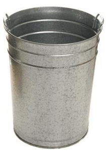 Sabco 55L Galvanised Bin No Lid - Click for more info