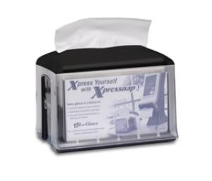 Tork Xpressnap Dispenser Tabletop Black - Click for more info