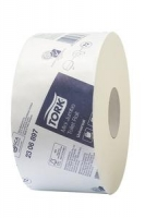 Tork Mini Jumbo Toilet Roll T2 1Ply 400M - Click for more info