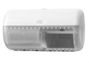 Tork Dual Toilet Paper Dispenser White - Click for more info