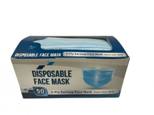 Disposable FaceMask 3Layer Surgical/50pb - Click for more info
