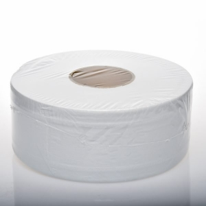 Jumbo Toilet Rolls 2p300m x 8 Indiv Wrap - Click for more info