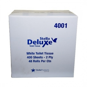 400 Sheet Toilet Paper 2 ply x 48 Rolls