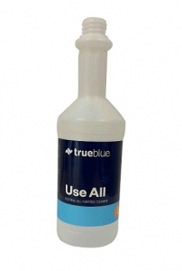 True Blue Screen Printed Bottle USE ALL - Click for more info
