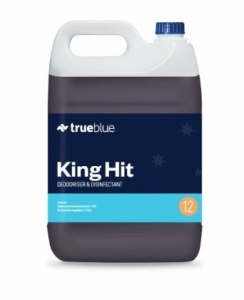 True Blue King Hit Disinfectant 5L - Click for more info
