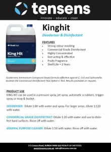 True Blue King Hit Disinfectant 5L