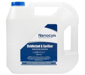 Nanocyn Disinfectant 5L TGA Approved