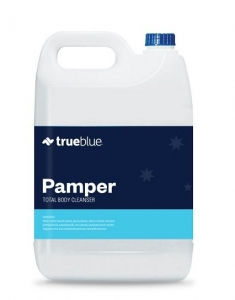 True Blue Pamper Delux Body Shampoo 5L - Click for more info