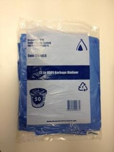 Sanitary Bin Bags - Blue  50 Pack - Click for more info