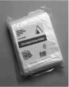 Bin Liners 82L Natural 250/Ctn - Click for more info
