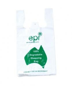 EPI Degradable Green Singlet 5000/Ctn - Click for more info